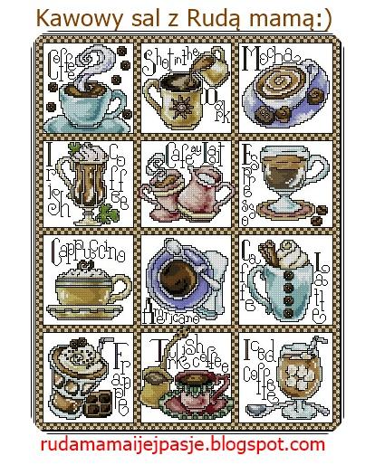 Kawowy SAL z Rudą Mamą :)