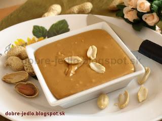 Domáce arašidové maslo - recepty