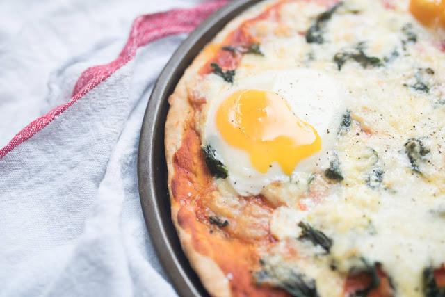 Easy Florentine Pizza Recipe
