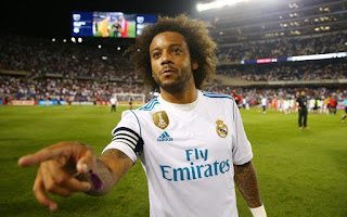 Real Madrid Defender Marcelo Signs New Deal