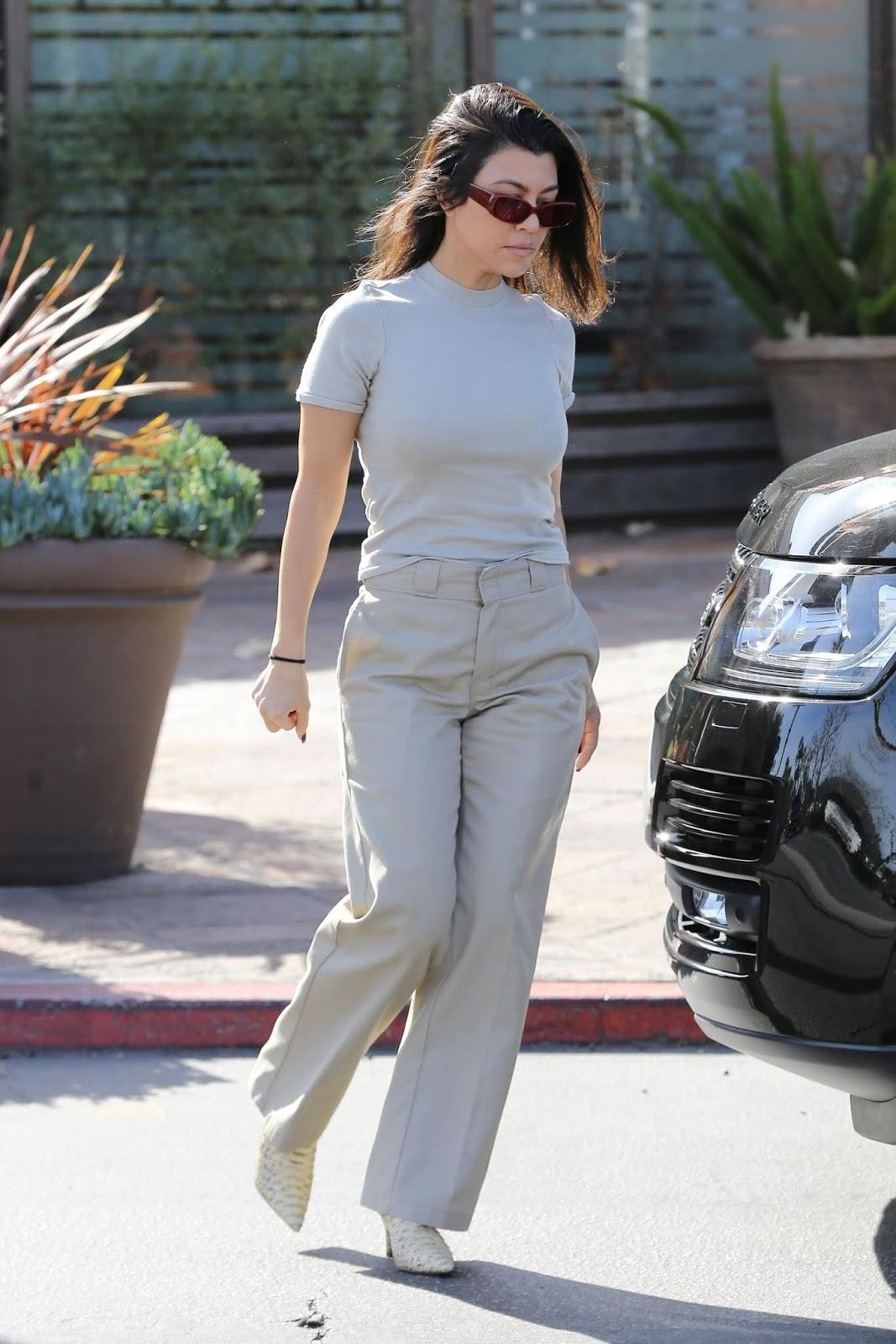 Kourtney Kardashian - out in Los Angeles - 01/27/2019