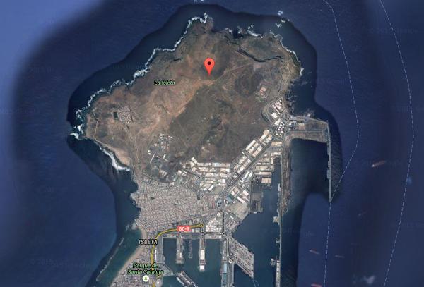 Mujer detenida en La Isleta por morder y golpear a su pareja