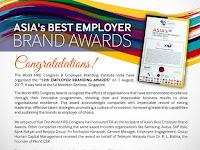 Asia's Best Employer Brand Awards 2017