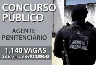Concurso de Agente Penitenciário 2017 SP: mais de 1 mil vaga
