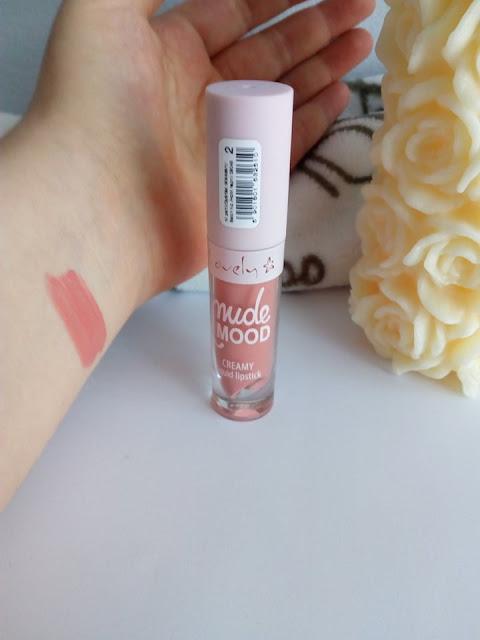 Lovely - Nude Mood, Creamy Liquid Lipstick, Pomadka do ust