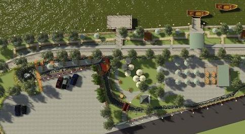 JASA DESAIN AUTOCAD Jasa Gambar Desain Landscape Siteplan