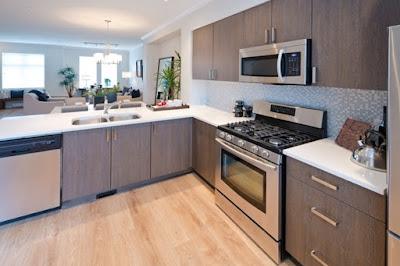 Meletakan Dapur Dibagian Ruangan Depan Yang Menguntungkan