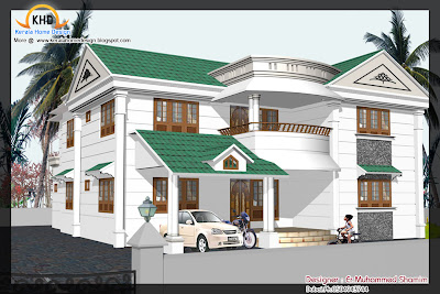 Home elevation design in 3D