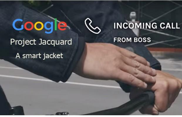Google-Levi's Commuter Trucker Jacket