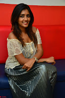 Eesha in a cute deep neck top and Skirt at at Big FM 046.JPG