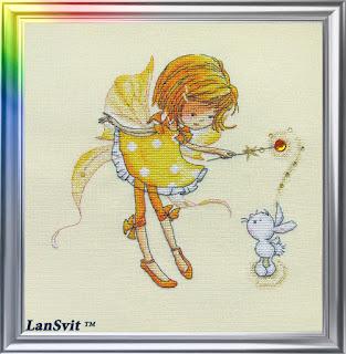 Cross-stitch Lan Svit D-025 «In a Sunny Mood»