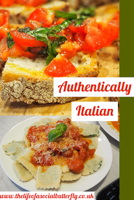Pinterest Authentically Italian Recipe Blog Post Pin