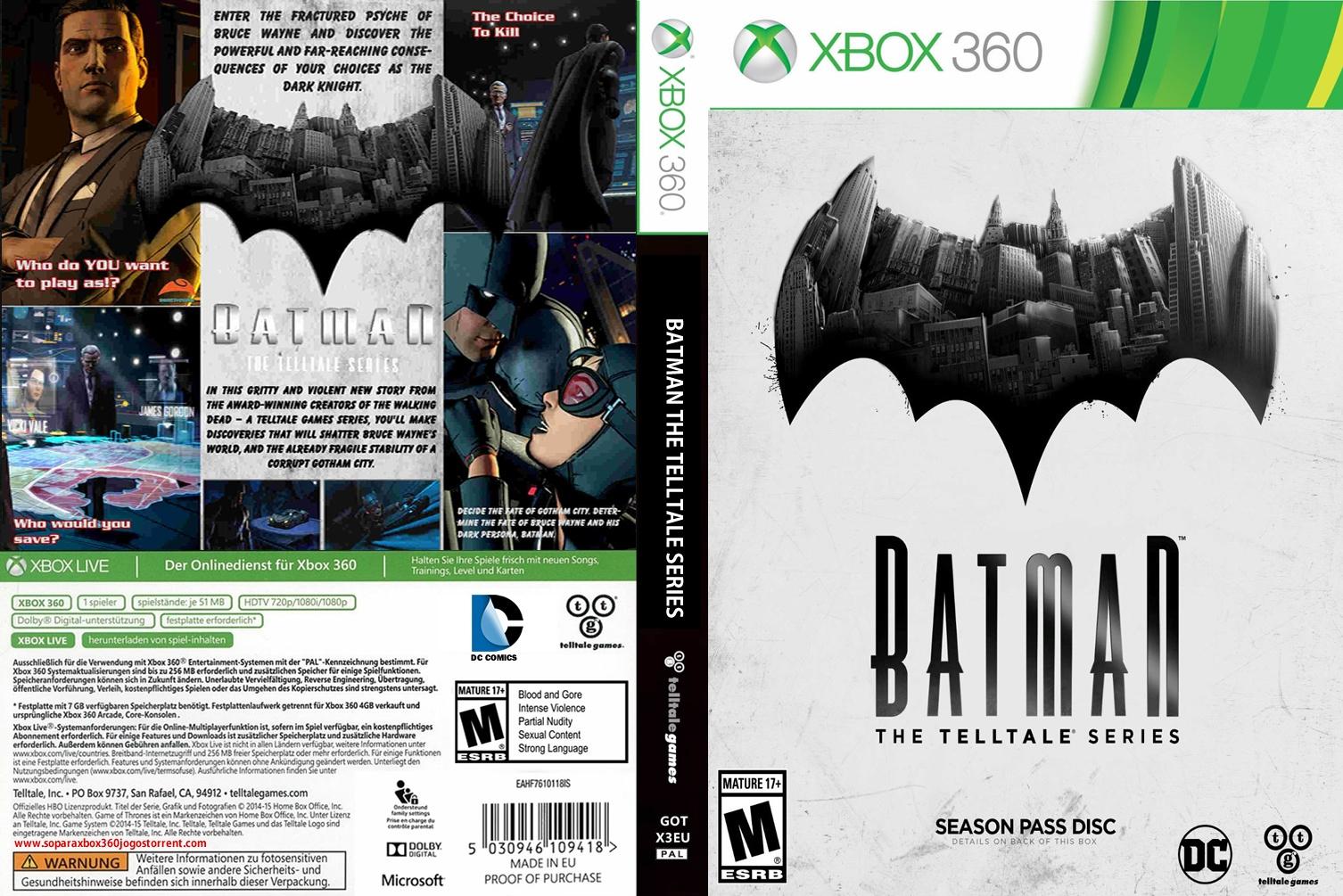 Batman: The Telltale Series - Xbox 360 - Newegg.com