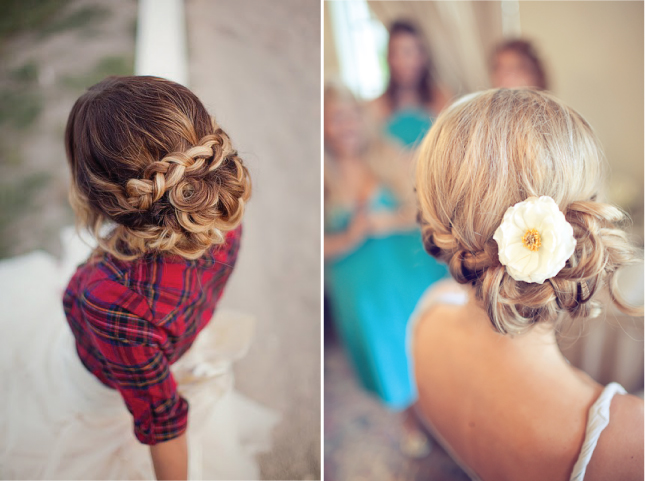 Wedding Hairstyles For Short Hair 2012: {Wedding Trends} : Braided Hairstyles
