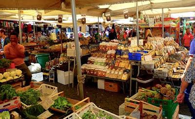Open Air Market Campo de Fiori Rome