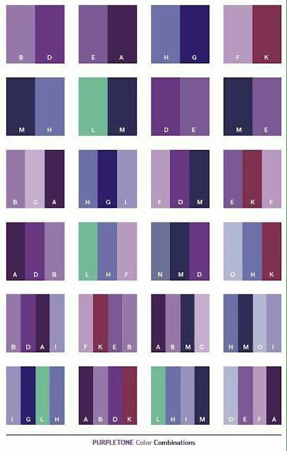 Warna purple tone bagi yang nak kelihatan sedondon