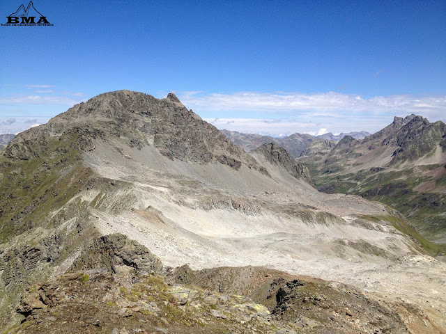 wandern verwall - Friedrichshafener Huette - Faednerspitze Gipfel Paznaun