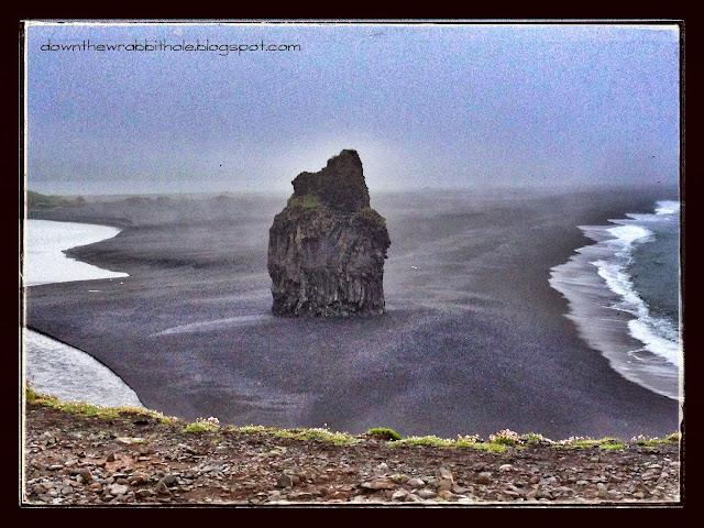 Dyrholaey Nature Preserve rock formation Vik Iceland