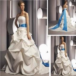 falda pick-up vestido de novia