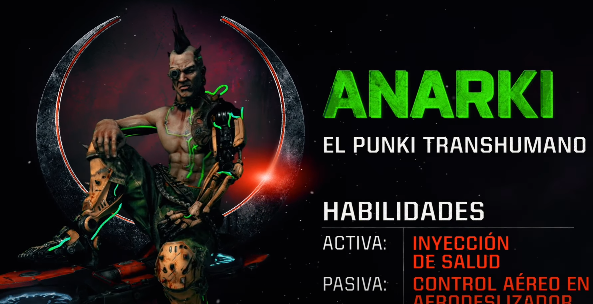 Quake Champions confirma el regreso de Anarki, ¡conocelo!