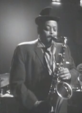 Ben Webster au Danemark en 1965.