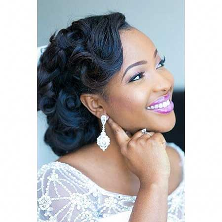 Super Updo Wedding Hairstyles for Black Women | Hairstyles ...