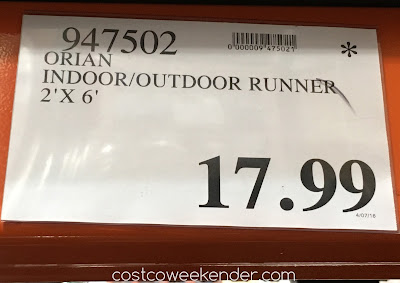 Deal for the Orian Easy Living Indoor/Outdoor Runner (2' x 6') at Costco