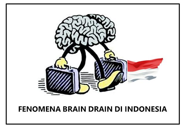 fenomena brain drain di indonesia