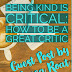 Being Kind is Critical: How to Be a Great Critic - Guest Post by Alyssa Roat