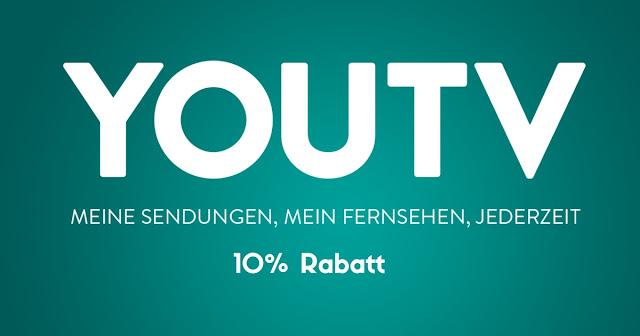 10 % Rabatt für YouTV