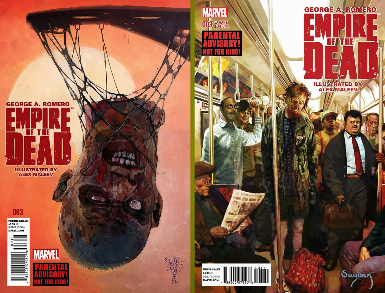 Empire of the Dead (cover+variant)