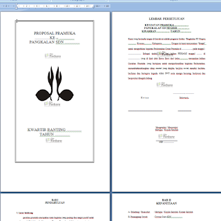 Download Contoh Proposal Kegiatan Pramuka