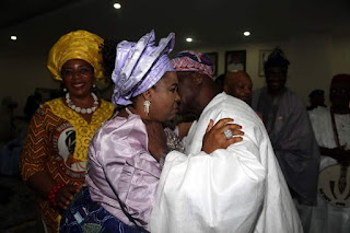 OMG: See What Obasanjo Was Caught Doing With Patience(Goodluck wife) At Ebonyi State