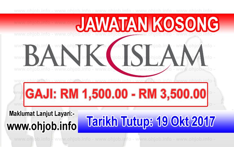 Jawatan Kerja Kosong Bank Islam Malaysia Berhad logo www.ohjob.info oktober 2017