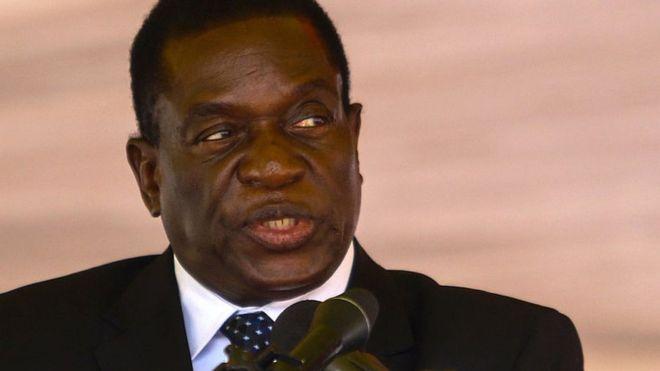 Zimbabwe's Emmerson Mnangagwa criticised for poisoned ice cream claim