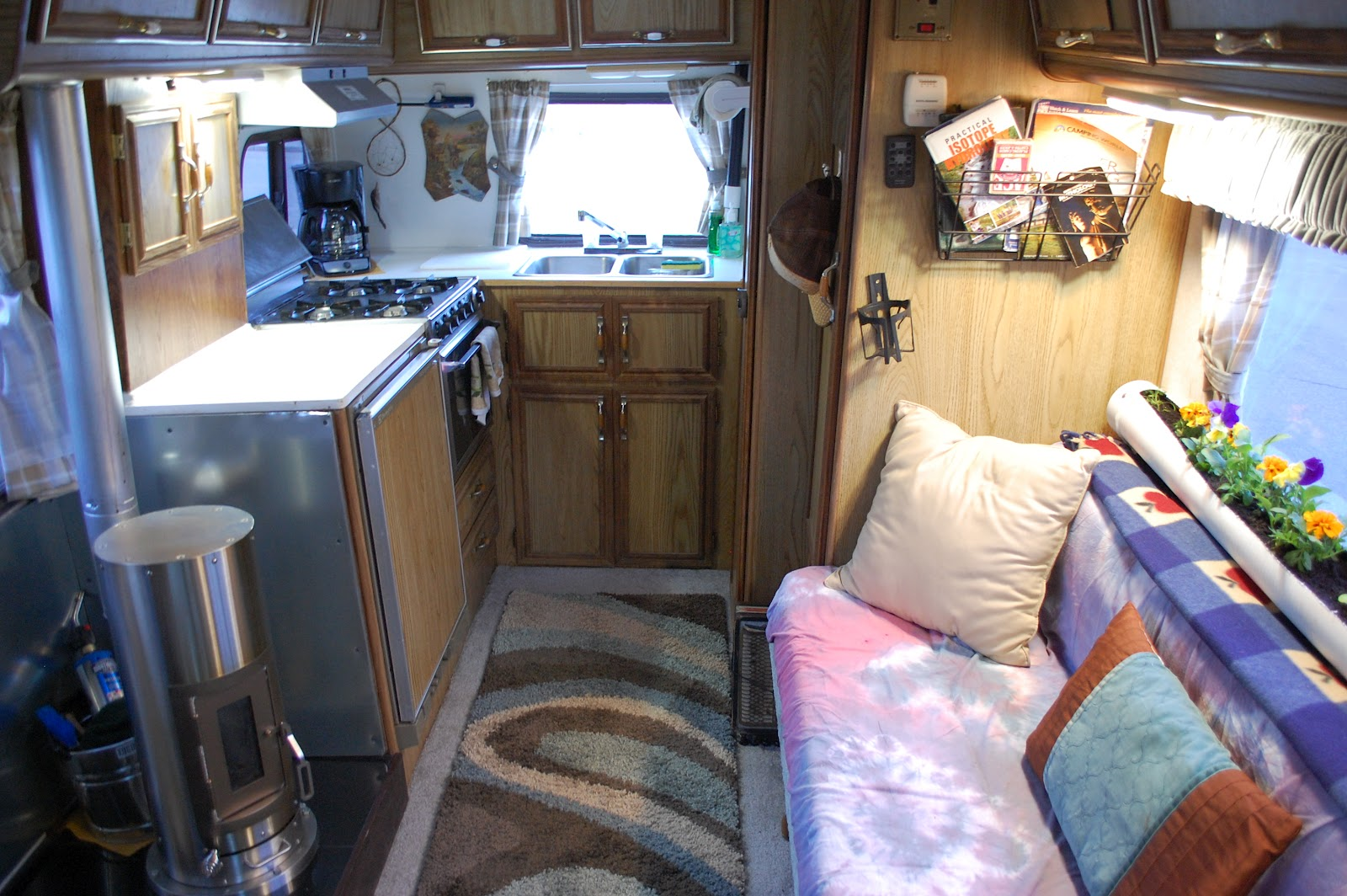Living In A Van Down By The River On Road Off Grid