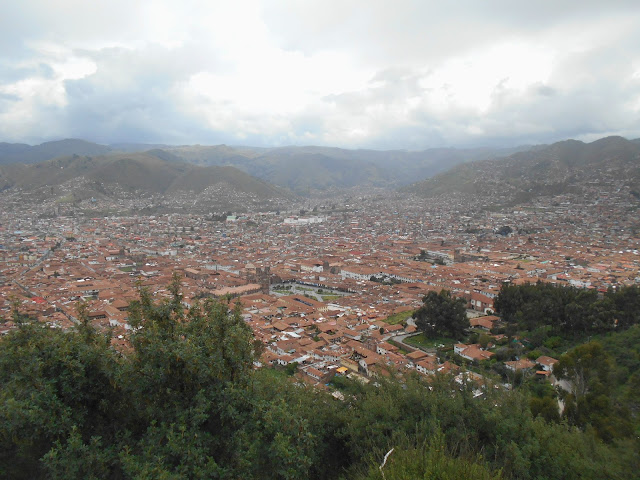 Views of Cusco from Cristo Blanco