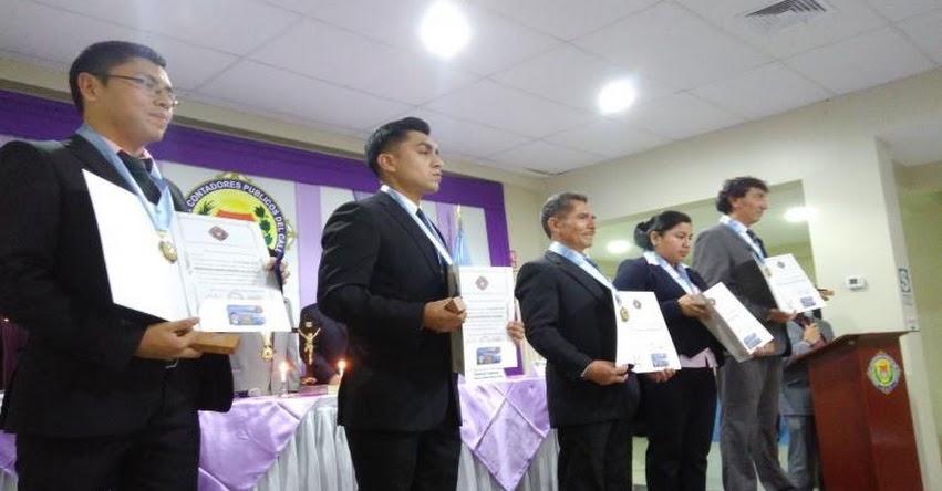 Colegio de Contadores Públicos del Callao espera contar con 6 mil afiliados para el 2019