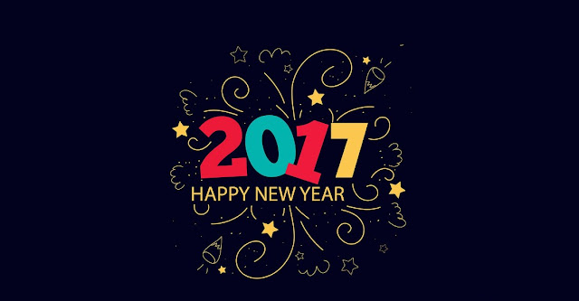 Happy New Year 2017 HD Wallpaper for Desktop