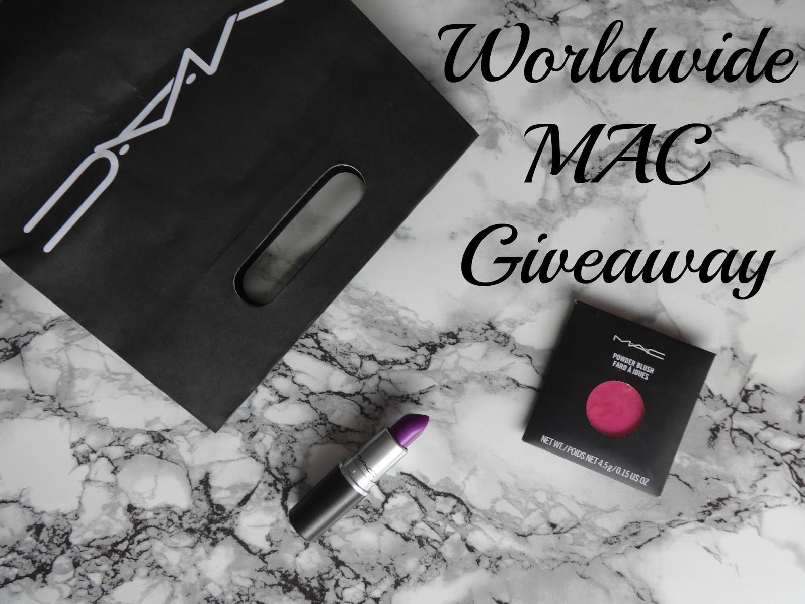 March MAC-ness:  Worldwide MAC Giveaway #1