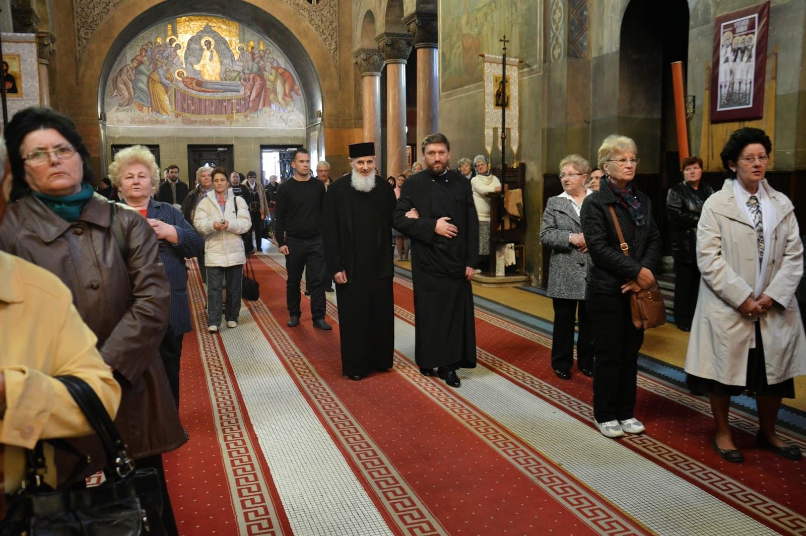 Sfintii Ierarhi: Ilie Iorest, Simion Stefan, Sava Brancovici si Iosif Marturisitorul, Catedrala Mitropolitana Cluj-Napoca