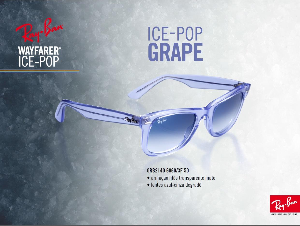 9cc4b0baf9 Optica 70  Ray-Ban Wayfarer Ice-Pop
