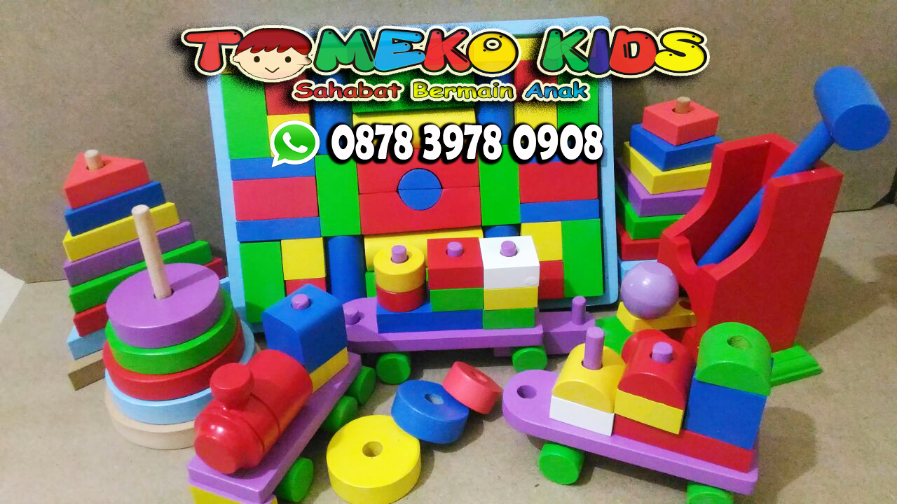 Suplier Mainan Edukatif Anak 5 Tahun Menyediakan Mainan Edukatif