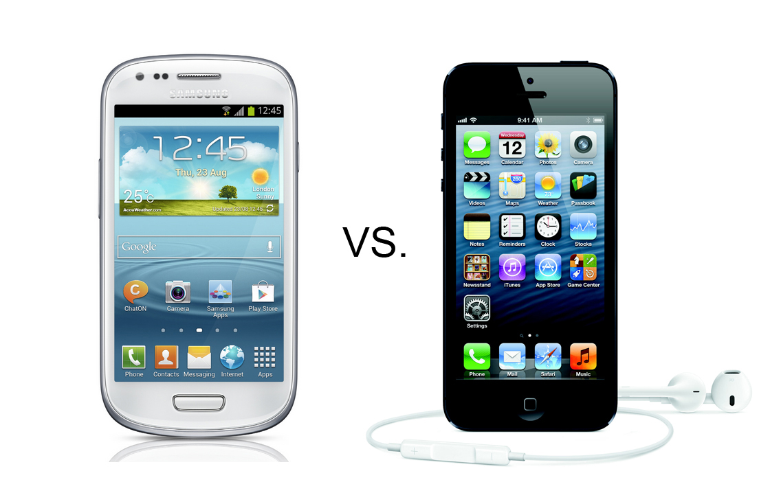 Samsung Galaxy S3 Mini vs. iPhone5: Which One is Worth ...
