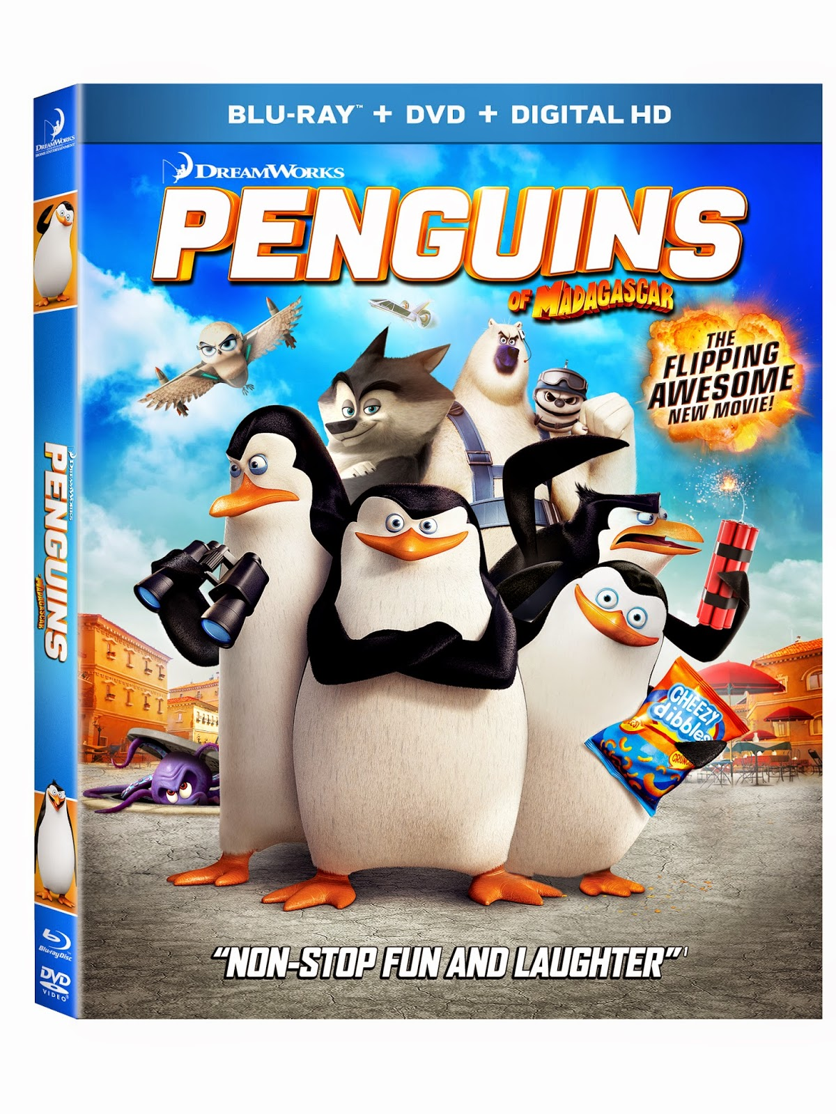 The Diary of a Nouveau Soccer Mom: Penguins of Madagascar {Giveaway}