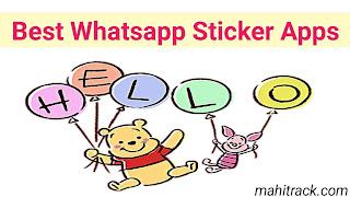 Best whatsapp stickers, top whatsapp sticker apps list in hindi