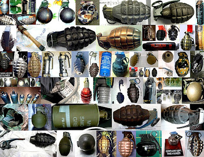 Picture of grenades.