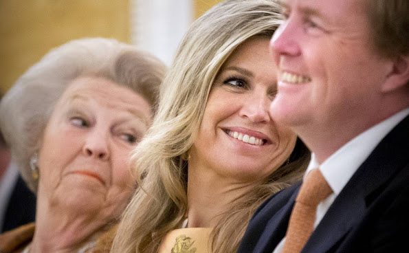 King Willem-Alexander of The Netherlands, Queen Maxima of The Netherlands and Princess Beatrix