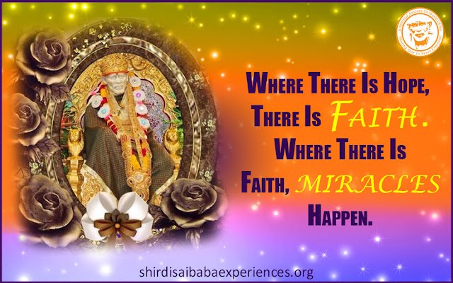 Shirdi Sai Baba Blessings - Experiences Part 2599