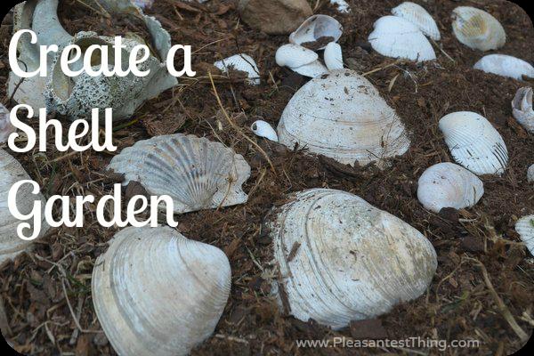 Kids shell garden